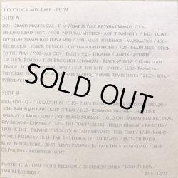 画像2: DJ 74 / 3 O'CLOCK MIX TAPE (CD-R)