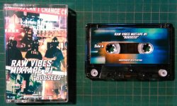 画像1: BUGSEED / RAW VIBES MIXTAPE #1 (CASSETTE TAPE)