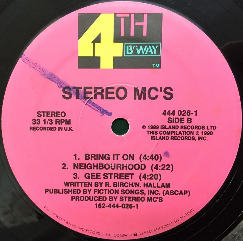 Stereo MC's - Mix From The Album