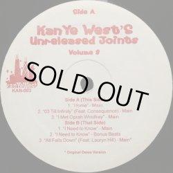 画像1: KANYE WEST / UNRELEASED JOINTS VOLUME.3