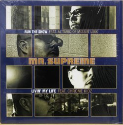 画像1: MR. SUPREME / RUN THE SHOW