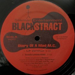 画像1: BLACKSTRACT / DIARY OF A MAD M.C.